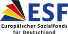 Logo ESF Europäischer Sozialfonds |Link auf www.esf-regiestelle.de öffnet in einem neuen Fenster