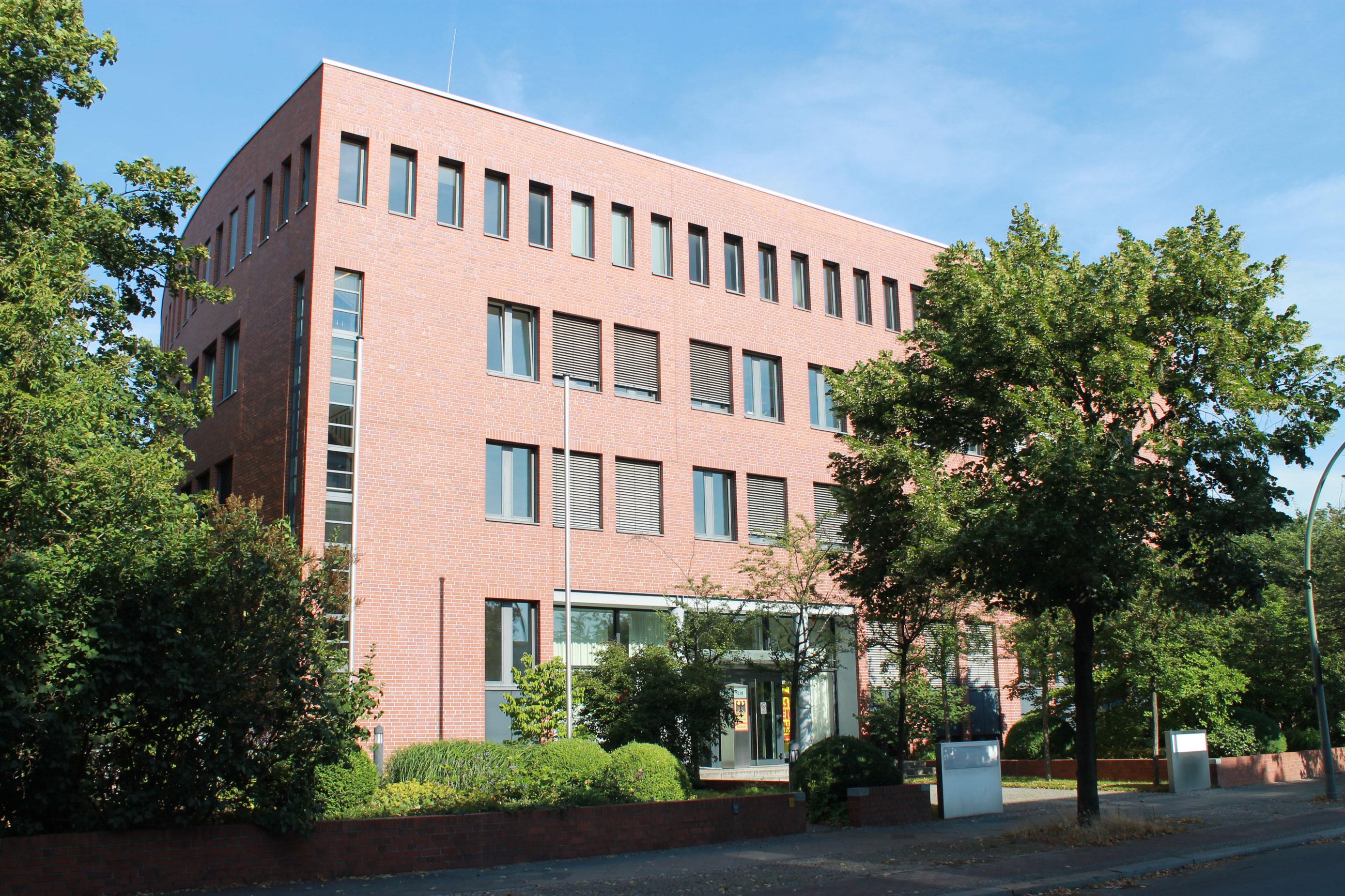 Das Dienstgebäude in Berlin