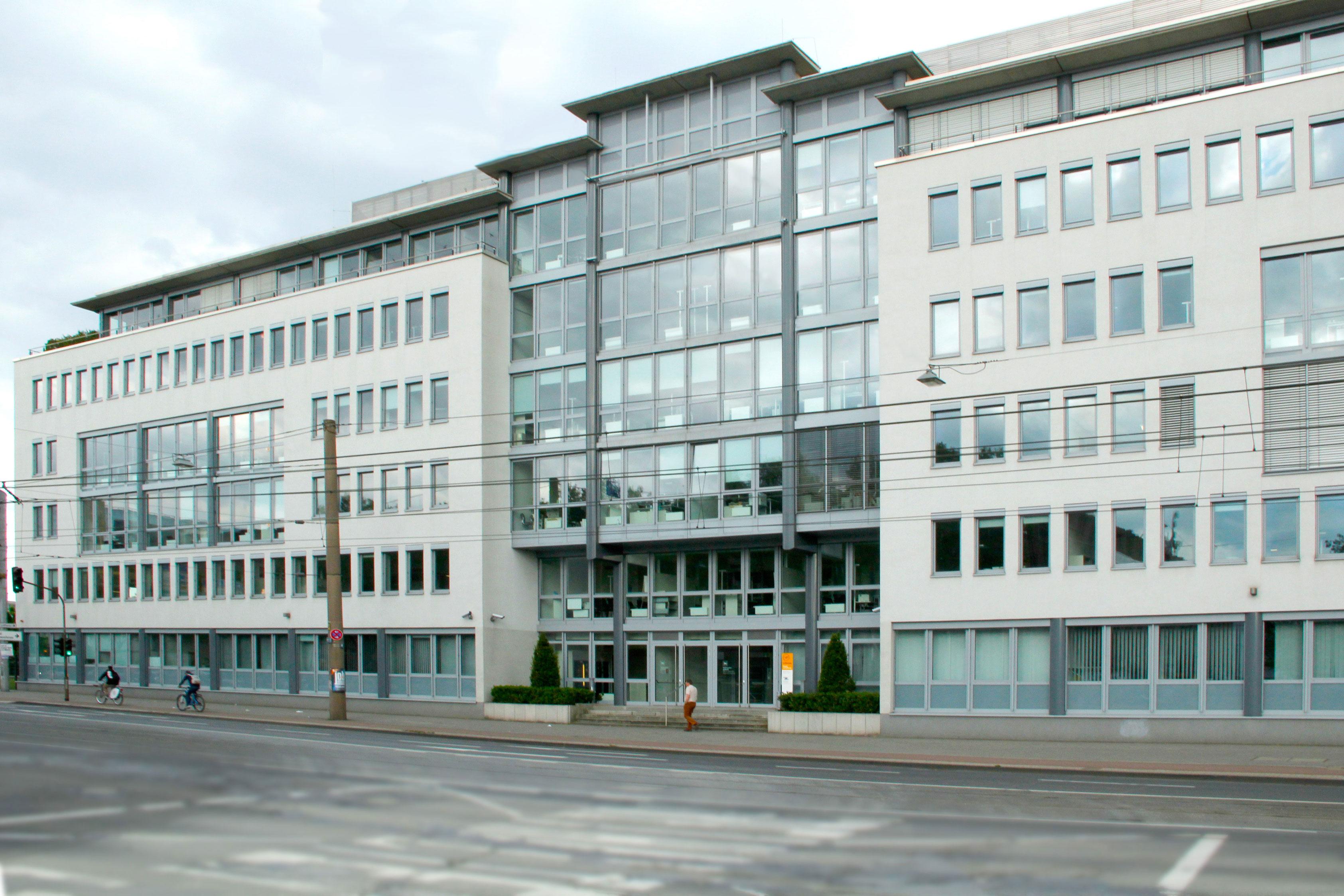 Das Dienstgebäude in Köln