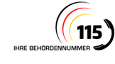 Logo n Ihre Behördenrufnummer 115